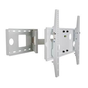 """4W Držák LCD 30-84"""" jednoramenný otočný sklopný WH"""