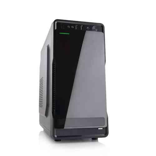 Modecom PC skříň MINI COOL, USB 3.0 + USB 2.0, HD audio, černá/lesklá, bez zdroje