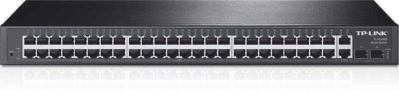 TP-Link TL-SL2452 48x100Mbps+2xGb+2xSFP S. Switch