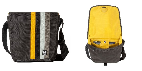 Crumpler Dinky Di Sling M - charcoal/honey