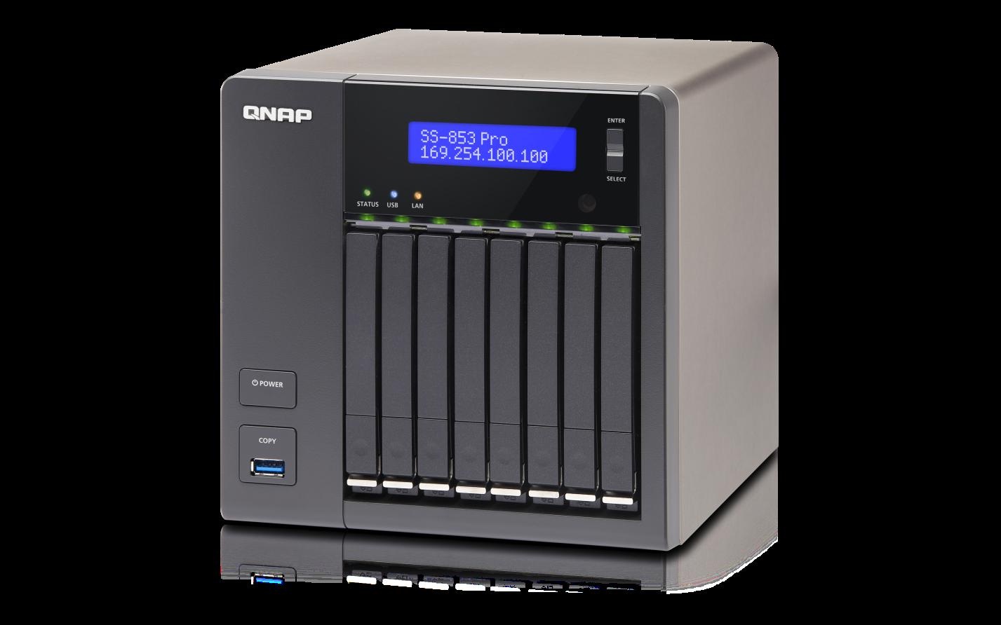 QNAP TS-853S-Pro (2,4G/4GB RAM/8xSATA)