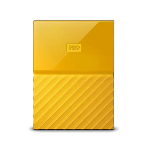 "WD My Passport 2TB Ext, 2,5"" USB3.0, YELLOW"