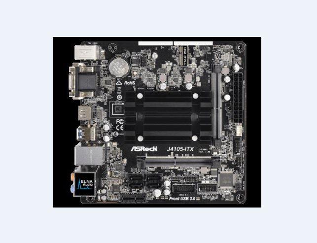 ASRock Super Alloy J4105-ITX, DDR4 2133, 1 PCIe x1