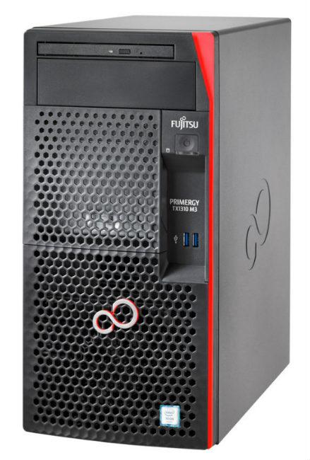 Fujitsu PRIMERGY TX1310M3/LFF/E3-1225v6 4C/4T 3.30 GHz/2x8GB/DRW/2xHD SATA 6G 1TB/KIT/STANDARD PSU