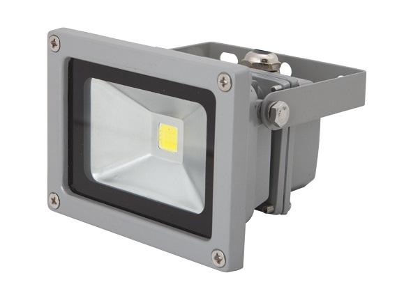 LEDMED COB LED VANA venkovní reflektorové svítidlo 10W, aluminium - neutrální