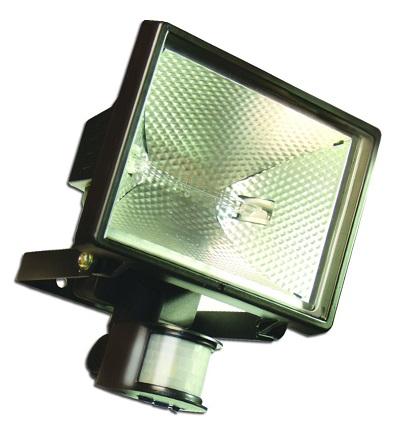 Panlux VANA 500 venkovní reflektorové svítidlo se senzorem 500W, černá