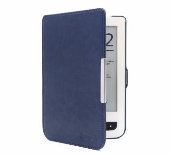 C-TECH PROTECT pouzdro pro Pocketbook 614/624/626, hardcover, PBC-03, modré