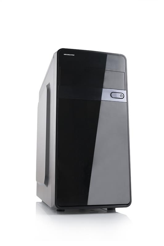 MODECOM PC skříň TREND Mini Tower USB 3.0 µATX, zdroj 400W