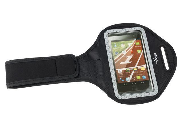 Natec Extreme Media X4 Sportovní pouzdro na ruku pro smartphony, černé