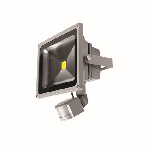 LEDMED COB LED VANA venkovní reflektorové svítidlo 50W, aluminium - neutrální