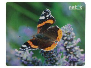 Natec podložka pod myš, třívrstvá, motýl