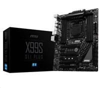 MSI X99A SLI PLUS, 2011-3, Intel X99, 8xDDR4, 4xPCIe16, RAID, 8CH, S/PDIF , USB3.1, ATX
