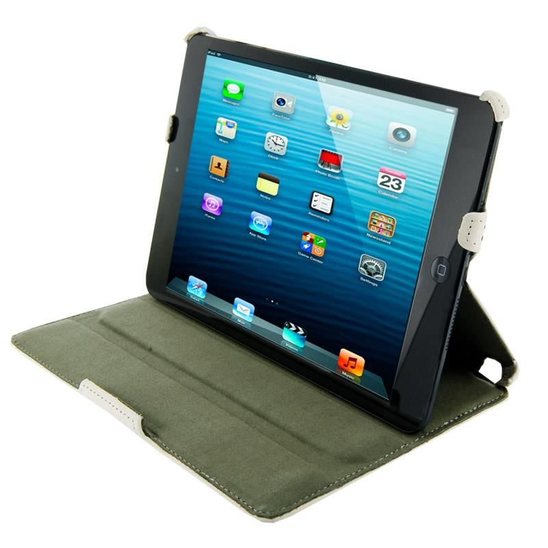 4World Pouzdro - stojan pro iPad Mini, vodotěsný, 7'', bílý