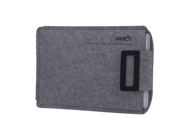 Natec SHEEP pouzdro pro Kindle 6'', šedo-černé