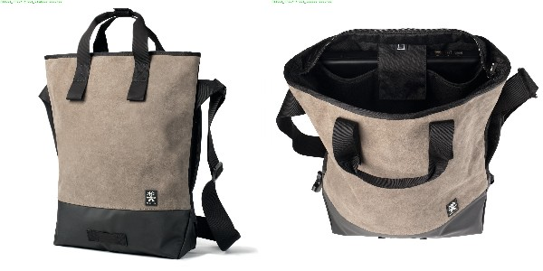 Crumpler Proper Roady Leather Messenger M - suede leather/black