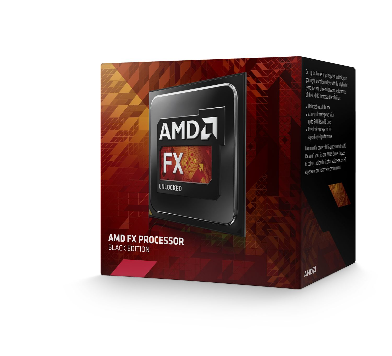 AMD cpu FX 8-Core 8320E Box AM3+ (3.2GHz / 4.0GHz, 8MB+8MB cache, 95W, 8jádro)