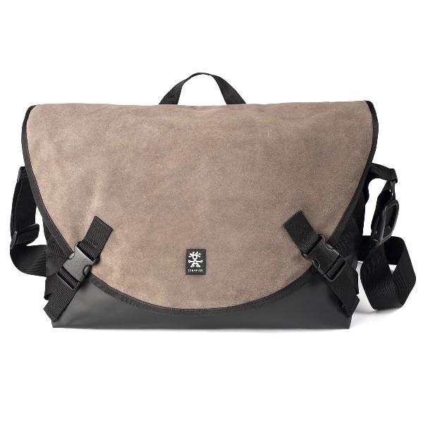 Crumpler Proper Roady Leather Laptop L - suede leather/black