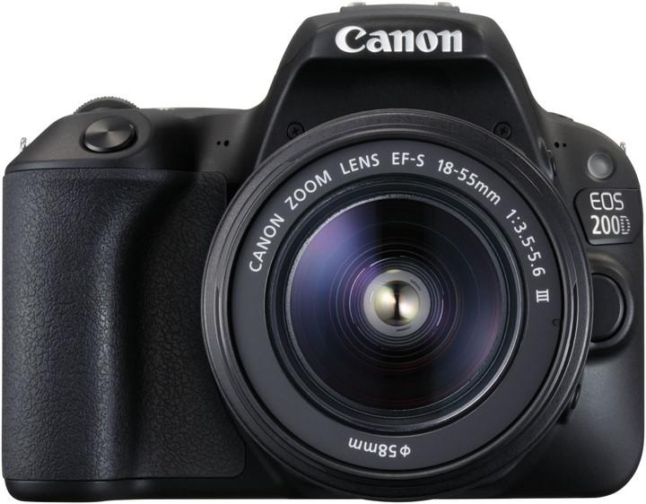 Canon EOS 200D 18-55+75-300 EU26