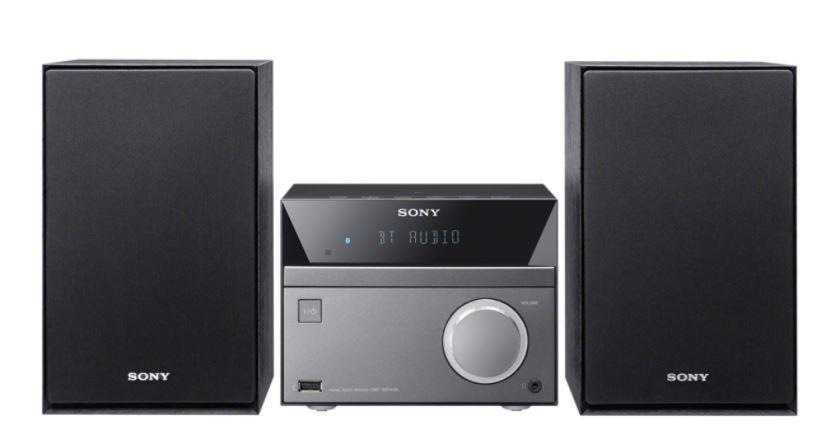 SONY CMT-SBT40D 50W audiosystém s DVD/CD, USB, rádiem FM/AM, vstupem audia, karaoke a funkcí Bass Boost