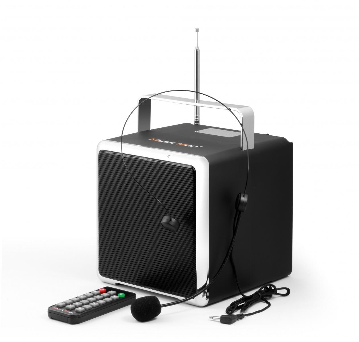 Technaxx MAXI MusicMan, baterie 2600 mAh, černý