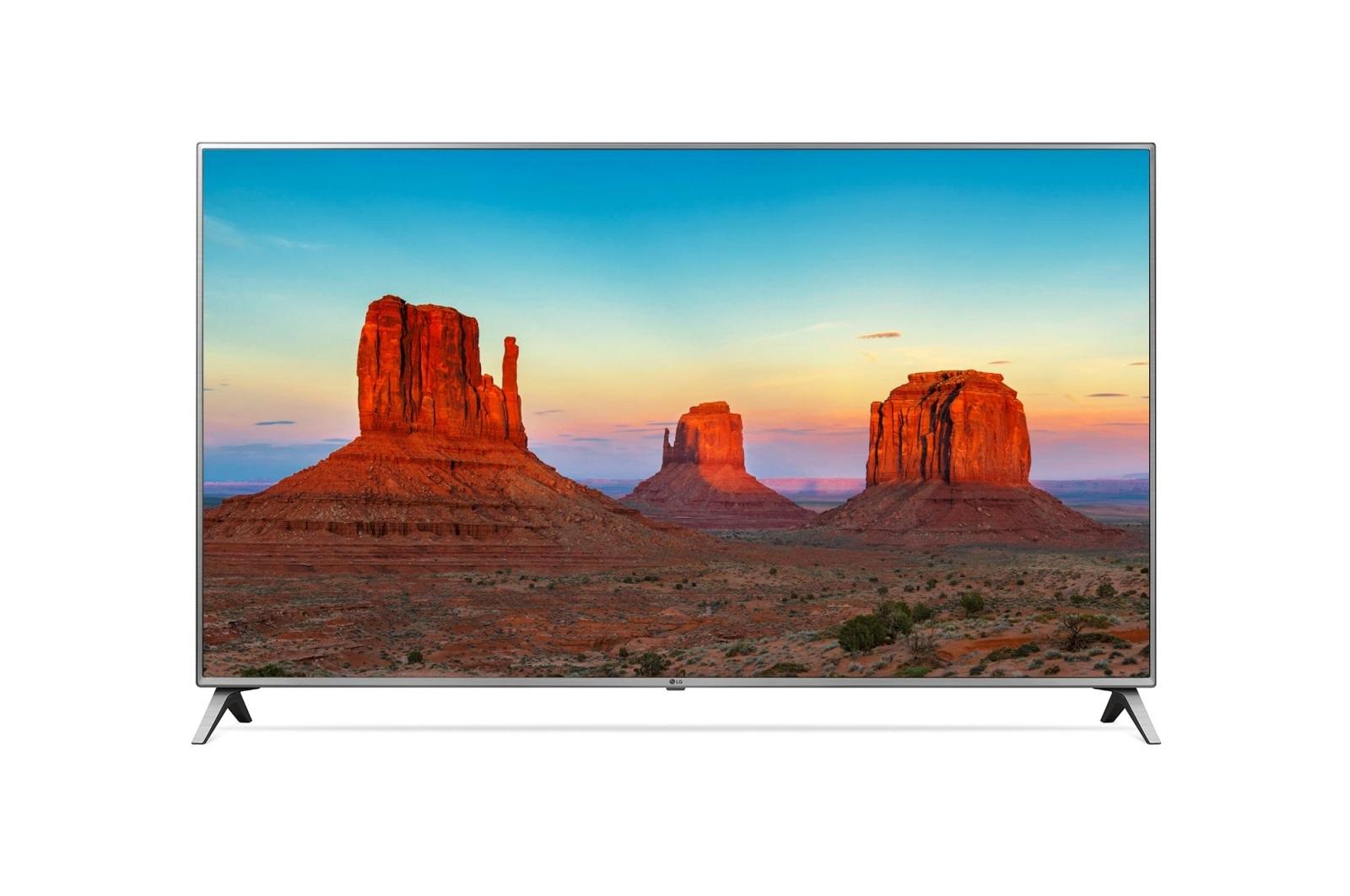"LG 55UK6500MLA Smart LED TV; 55"" 139cm; UHD 3840x2160; WebOS 3.0; Wi-Fi, HBB-TV, Bluetooth, VESA; HDMI, USB, LAN; DVB-T2"