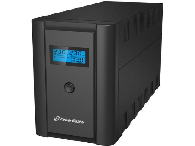 Power Walker UPS Line-Interactive 2200VA 2x 230V EU,2x IEC C13,RJ11/RJ45,USB,LCD