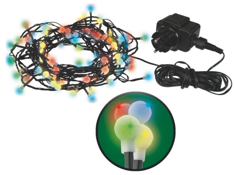 Emos LED dekorační řetěz LED-200 Cherry MC, 200x LED, 20 m, IP44, multicolor