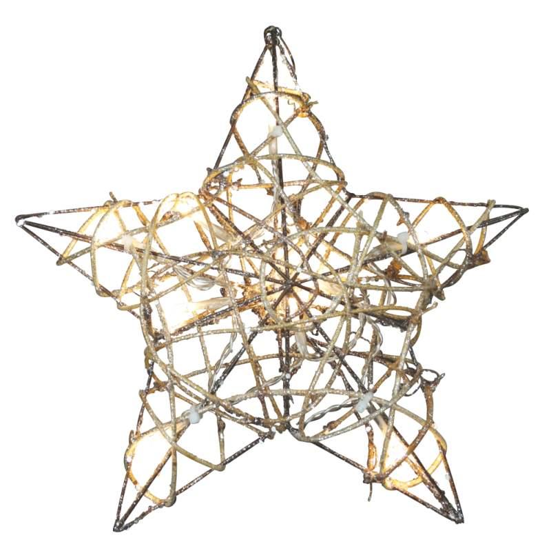 Emos LED dekorační řetěz LED-10 WW, 10x LED - Vánoční hvězda, IP20, teplá bílá