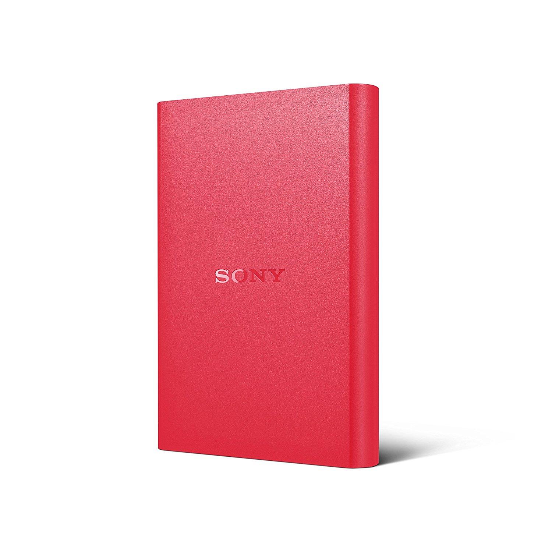 SONY HDD 1TB STANDARD HDD Red