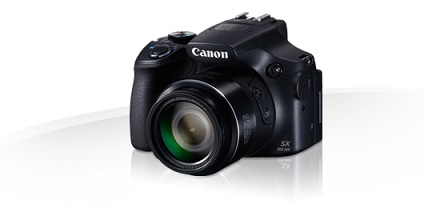 "Canon PowerShot SX60 HS Black - 16MP, 65x zoom, 21-1365mm, 3""LCD"