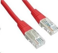Gembird Patch kabel RJ45, cat. 5e, UTP, 3m, červený