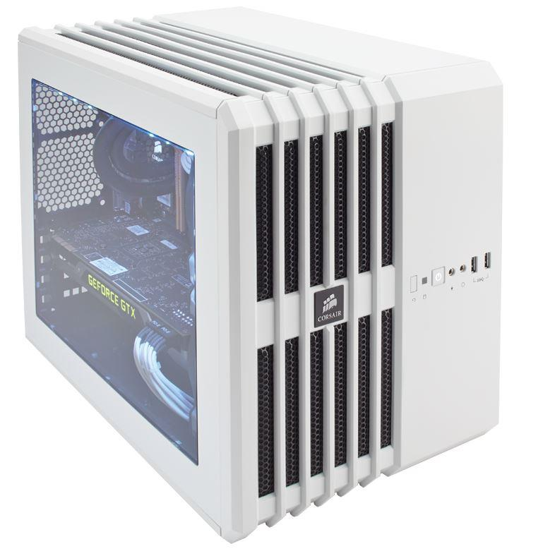 Corsair PC skříň Carbide Series™ Air 240 Mid Tower, bílá