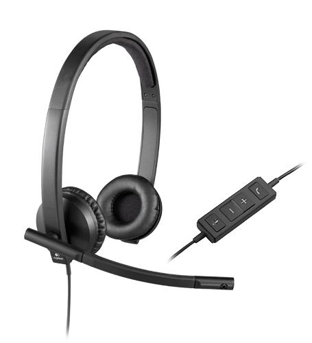 Logitech USB Headset H570e Stereo, OEM