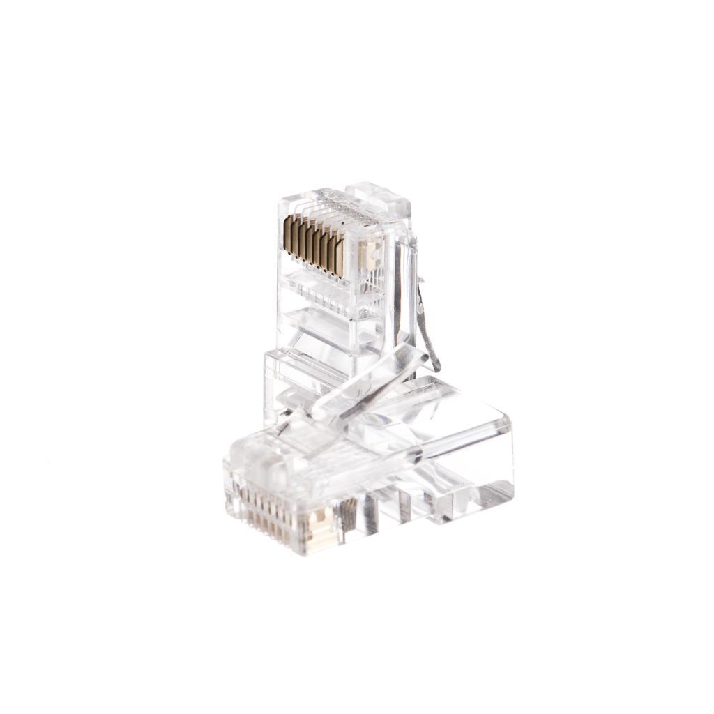 Netrack GoldMax 50u konektor RJ45 8p8c, UTP lanko, cat. 5e (100 ks)