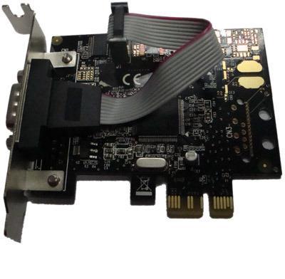 Unitek Y-7502 řadič PCI-E, 1x RS-232