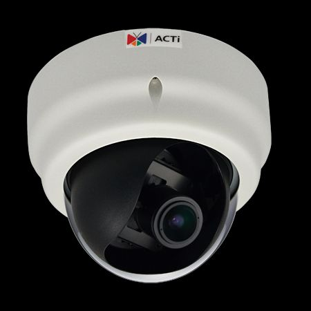 ACTi D61A,VF.Dome,1.3M,ID,f2.8-12mm,PoE