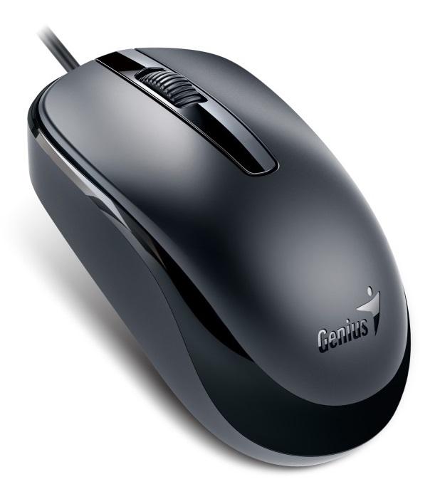 Genius optická drátová myš DX-120, USB černá