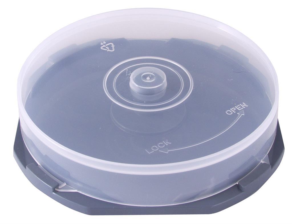 Esperanza Plastové krabičky Cake Box na 10 ks CD/DVD | 60 ks