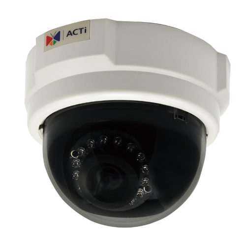 ACTi E53,F.Dome,3M,ID,f3.6mm,PoE,WDR,IR