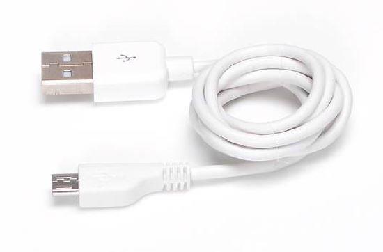 Sandberg Micro USB synchronizační a napájecí kabel, 1m, bílý