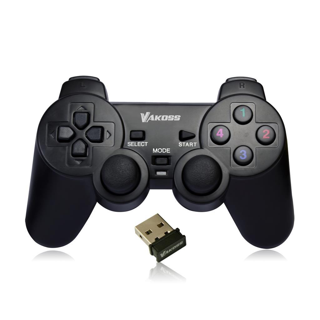 VAKOSS Bezdrátový gamepad s Dual Shock funkcí