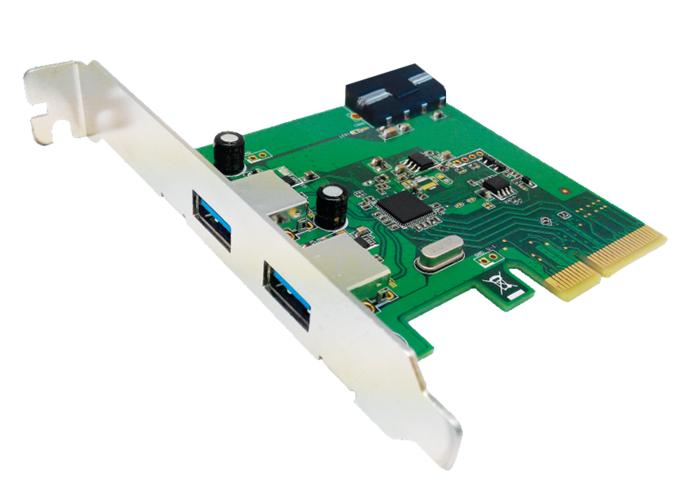 Unitek Y-7305 řadič PCI-E, 2x USB 3.1