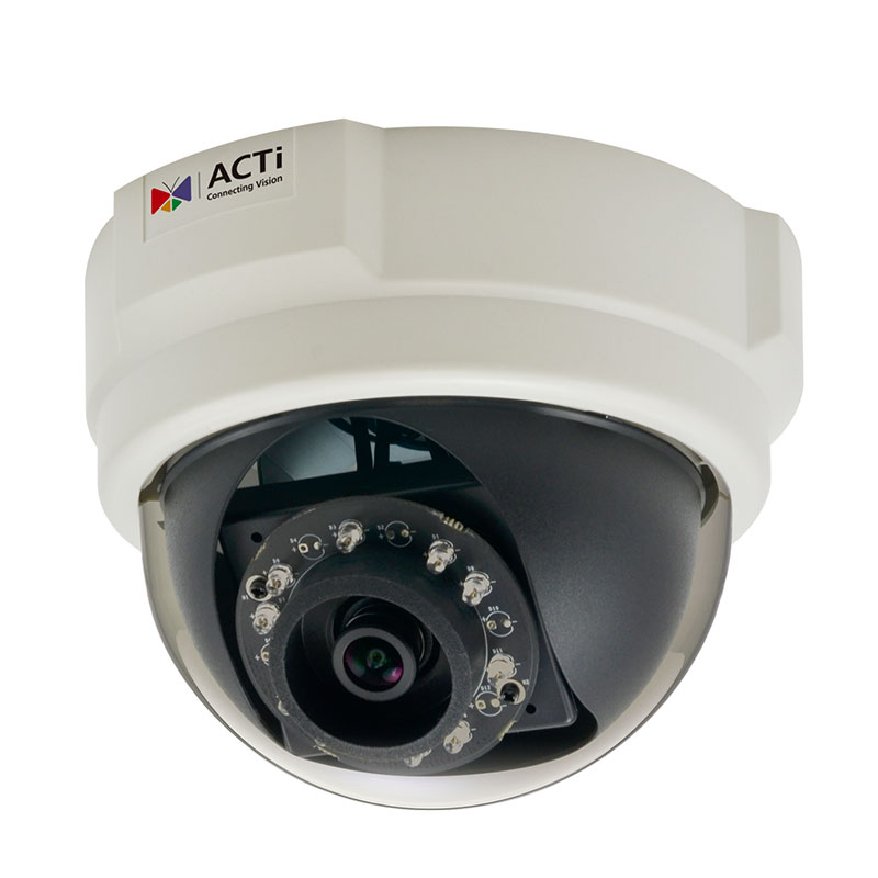 ACTi E58,F.Dome,2M,ID,f3.6mm,PoE,WDR,IR