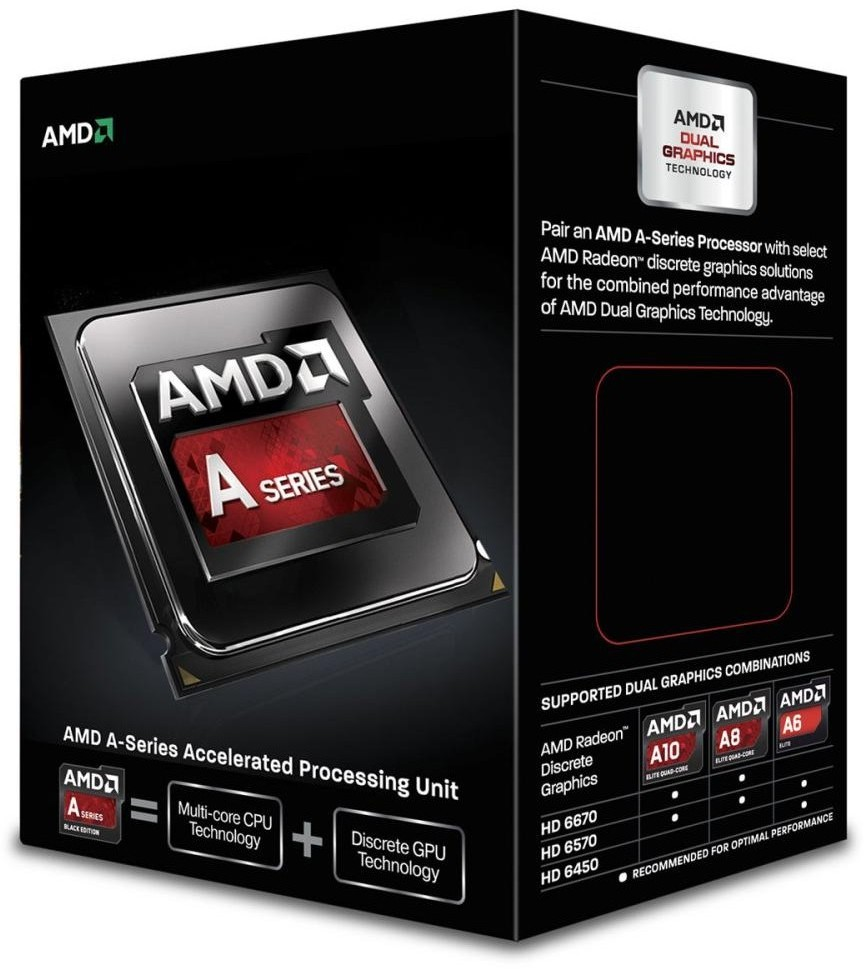 CPU AMD Richland A4-7300 2c Box (3,8Ghz, 1MB)