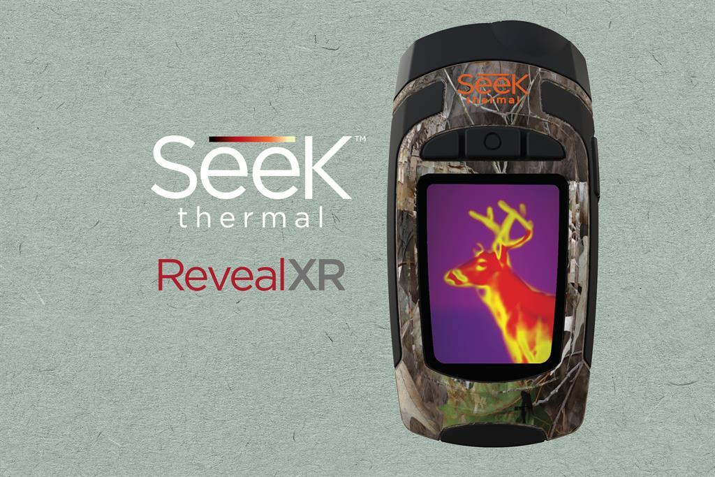 SEEK THERMAL Reveal XR kompaktní termokamera s LED svítilnou, maskáčová