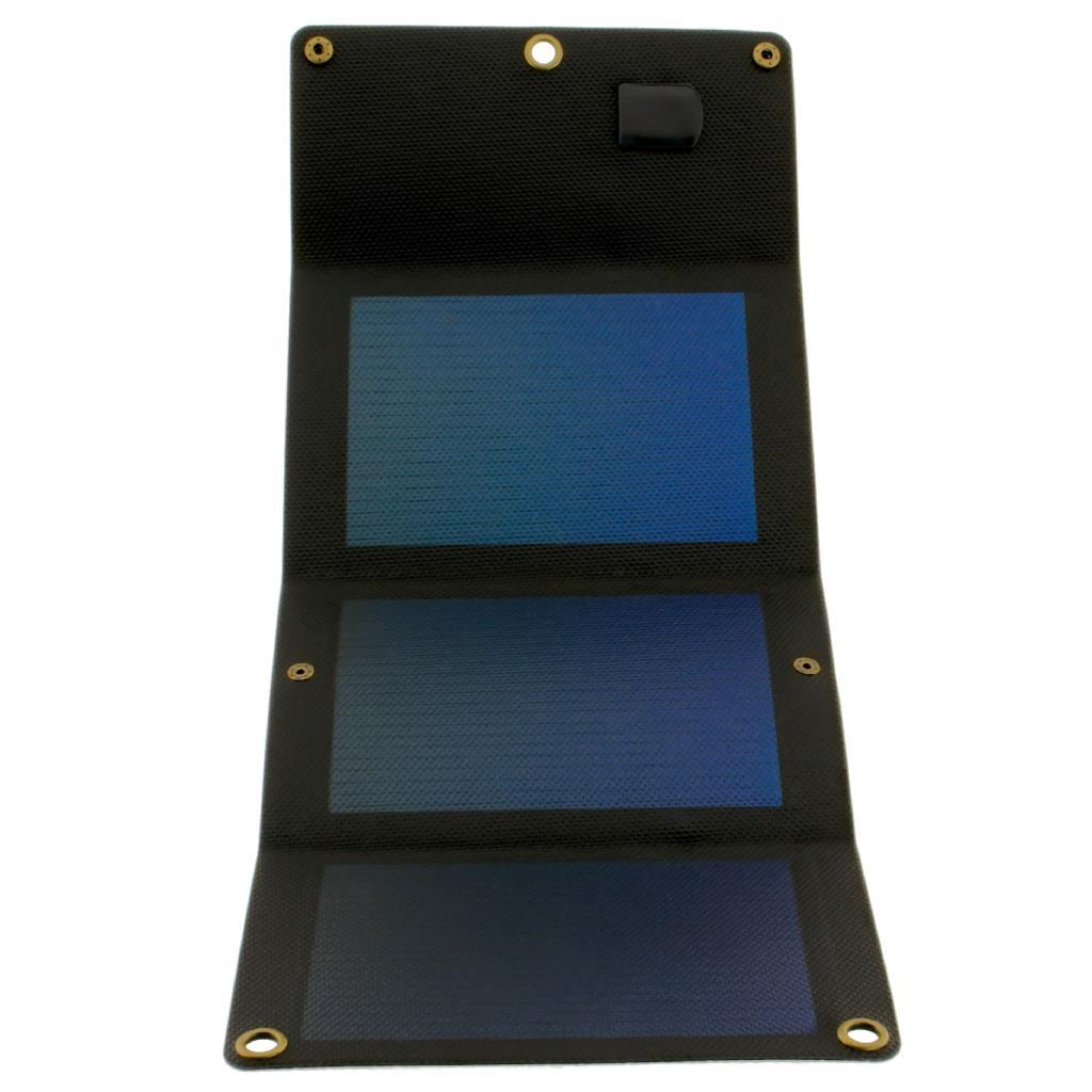 PowerNeed Sunen Flexibilní solární nabíječka 5W, černá