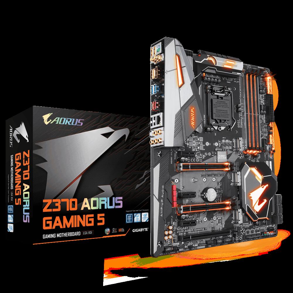 Gigabyte Z370 AORUS Gaming 5 ,USB 3.1 Gen 2 ,HDMI