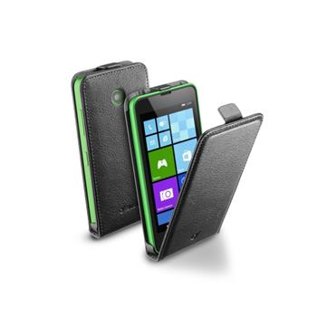 Pouzdro CellularLine Flap Lumia 630/635, černé