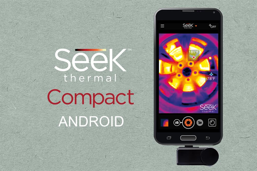 SEEK THERMAL Compact Android termokamera pro Android smartphony