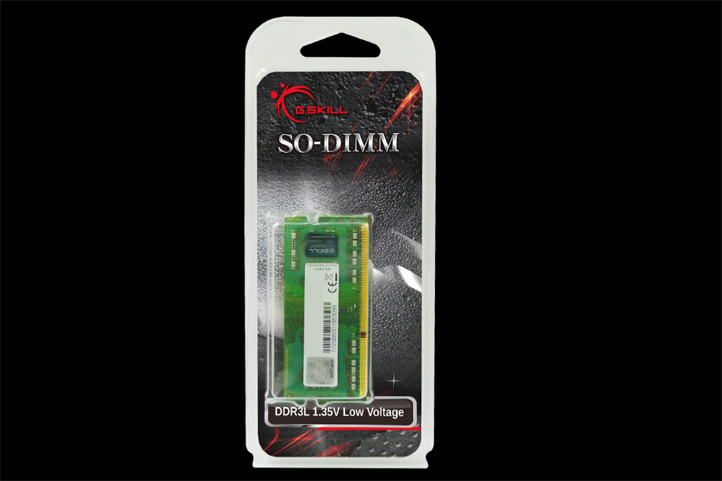 G.Skill DDR3L 4GB 1600MHz CL11 SO-DIMM 1.35V